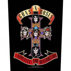 Patch Guns n Roses - Appetite for Destruction [Backpatch]