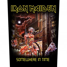 Patch Iron Maiden - Somewhere in Time [Backpatch]