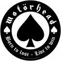 Patch Motorhead - Born to Lose [Backpatch]