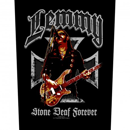 Patch Motorhead - Stone Deaf Forever [Backpatch]