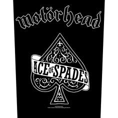 Patch Motorhead - Ace of Spades [Backpatch]