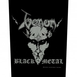 Patch Venom - Black Metal [Backpatch]