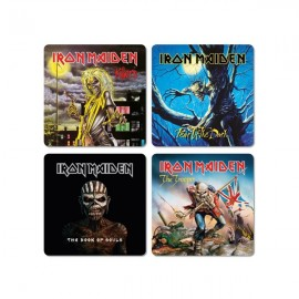 Coasters Iron Maiden [set of 4]