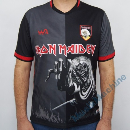Footbal jersey official Iron Maiden - Number of the Beast