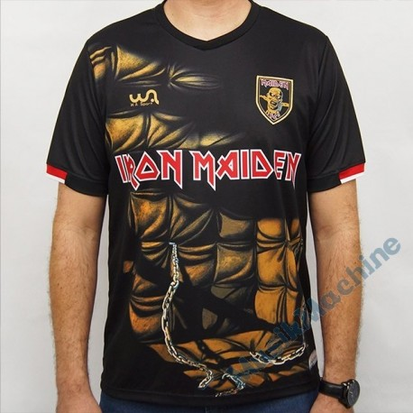 Footbal jersey official Iron Maiden - Piece of Mind
