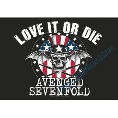 Flag Avenged Sevenfold - Love it or Die