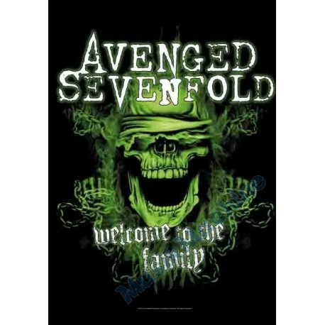 Flag Avenged Sevenfold - Welcome to the Family