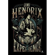 Flag Jimi Hendrix Experience - Art Nouveau
