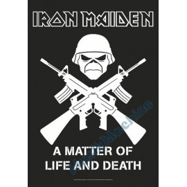 Flag Iron Maiden - A Matter of Life and Death