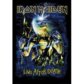 Flag Iron Maiden - Live After Death