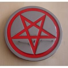 Belt buckle Pentagram