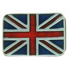 Belt buckle Union Jack