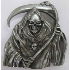 Belt buckle Skull - Reaper