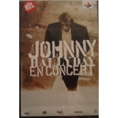 Affiche Johnny Hallyday - En concert