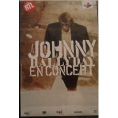 Poster Johnny Hallyday - En concert