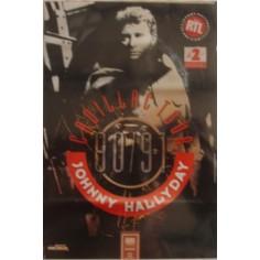 Affiche Johnny Hallyday - Cadillac tour