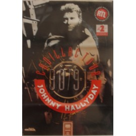Poster Johnny Hallyday - Cadillac tour
