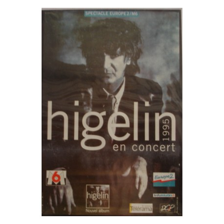 Poster Jacques Higelin - 1995