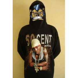 Light sweat shirt Fifty Cent - The massacre