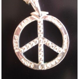 Necklace Peace and Love