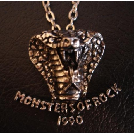 Pendant [Alchemy/Poker] Monsters of Rock '90