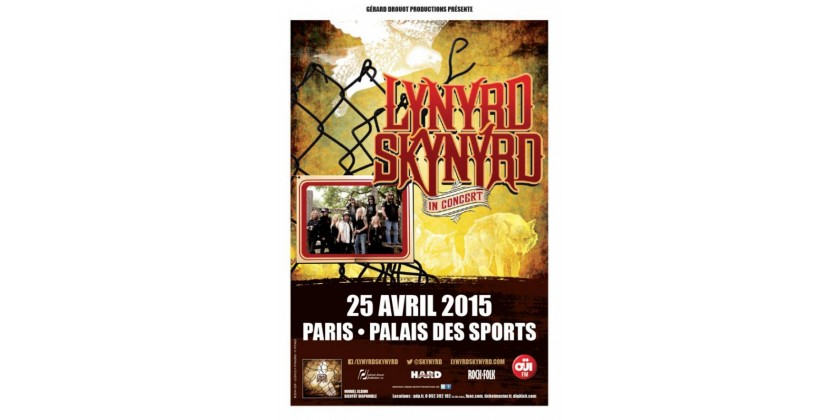 Lynyrd Skynyrd planned a concert in France